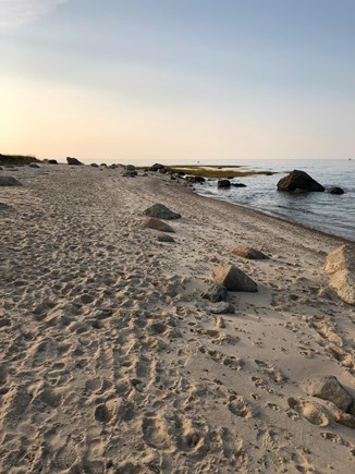 Bayside in East Dennis Cape Cod vacation rental - Crowes Pasture Beach with miles of walking trails near house.