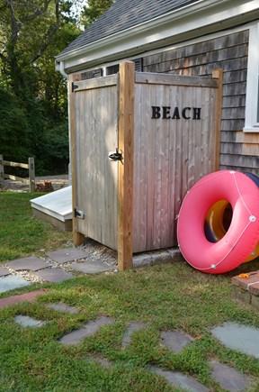 Quivet Neck, East Dennis Cape Cod vacation rental - Outdoor shower