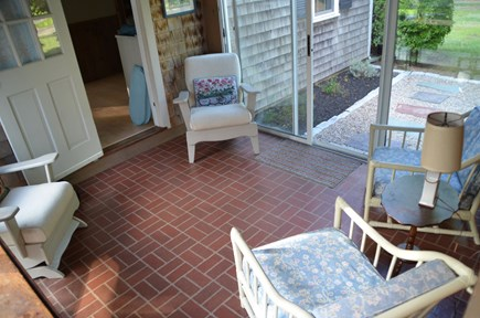 Quivet Neck, East Dennis Cape Cod vacation rental - Breezeway