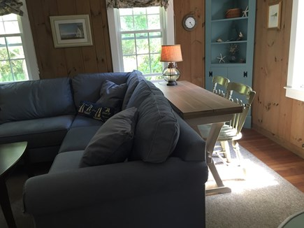 Quivet Neck, East Dennis Cape Cod vacation rental - Fold out table with 2 chairs