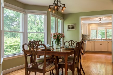 Brewster Cape Cod vacation rental - Dining area is light and cheery