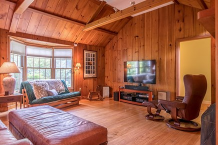 Brewster Cape Cod vacation rental - Large vaulted ceiling provides great space and natural light