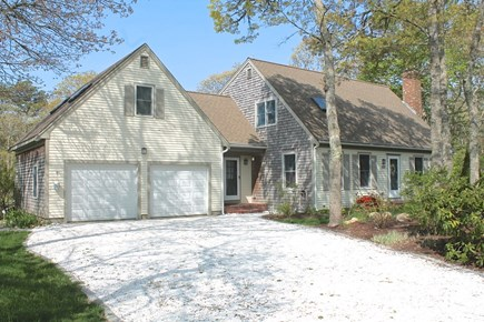 Brewster Cape Cod vacation rental - Curb view of this very private, secluded home