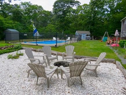 Brewster Cape Cod vacation rental - Outstanding outdoor living space, including a fire pit