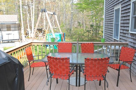 Brewster Cape Cod vacation rental - You can watch all the activities from right here