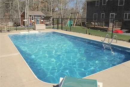 Brewster Cape Cod vacation rental - Yard and pool means fun for all!