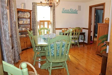 Brewster Cape Cod vacation rental - Dining area plus island seating in kitchen