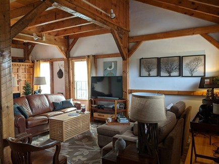 Chatham Cape Cod vacation rental - Living area with internet and one TV