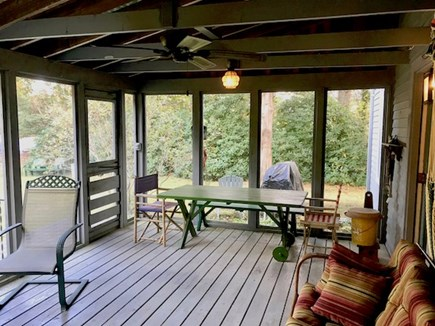 Orleans Cape Cod vacation rental - Spacious screened porch