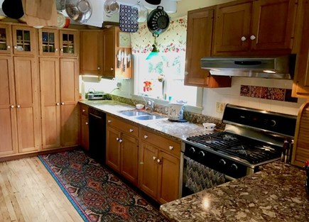 Orleans Cape Cod vacation rental - Kitchen open to Dining area