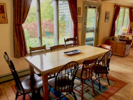Orleans Cape Cod vacation rental - Open dining area