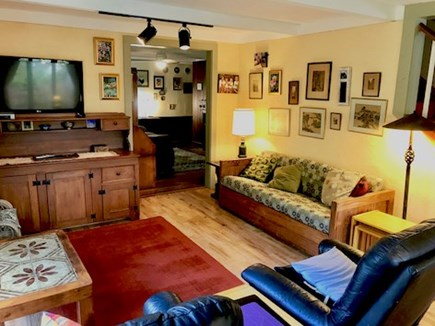 Orleans Cape Cod vacation rental - Living Room leading to additional sitting room