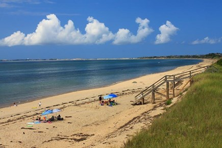 Truro Cape Cod vacation rental - Great Hollow Beach is an eight-minute walk from the house.