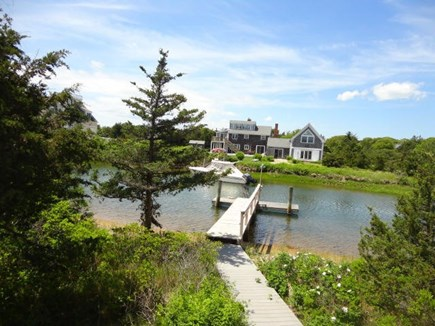 West Yarmouth Cape Cod vacation rental - Deep water boat dock with room for 2 boats