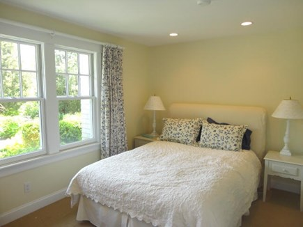 West Yarmouth Cape Cod vacation rental - 1st floor queen bedroom - full bath across the hall