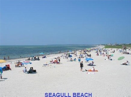 West Yarmouth Cape Cod vacation rental - Seagull Beach is 2 miles away