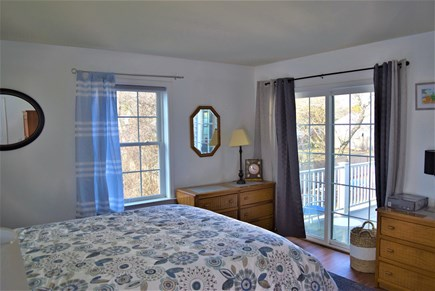 West Yarmouth Cape Cod vacation rental - 1st floor master with sliders to deck