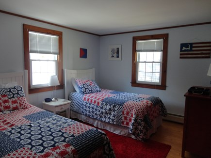 West Yarmouth Cape Cod vacation rental - Twin bedroom with A/C unit
