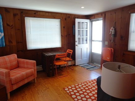 West Yarmouth Cape Cod vacation rental - Den with access to backyard