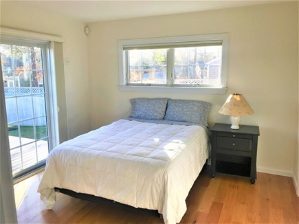 West Yarmouth Cape Cod vacation rental - 1st floor queen master with full bath and sliders to deck