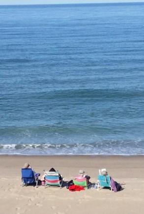 Wellfleet Oceanfront Home Cape Cod vacation rental - Our beach just steps away
