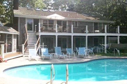 New Seabury New Seabury vacation rental - Pool view of house from waterfront
