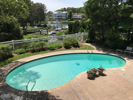 New Seabury New Seabury vacation rental - Pool view towards waterfront