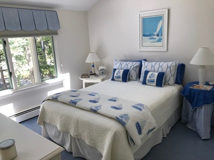 New Seabury New Seabury vacation rental - Guest bedroom - Top floor Queen w/top floor hall bath