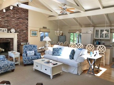New Seabury New Seabury vacation rental - Open Living Room, Kitchen, and Dining