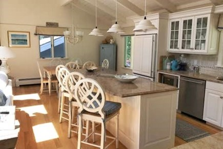 New Seabury New Seabury vacation rental - Kitchen on entry w/ large center island, dishwasher, large fridge