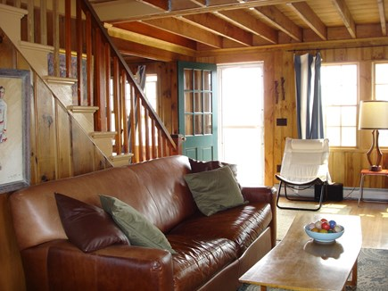 North Truro Cape Cod vacation rental - Living room area.