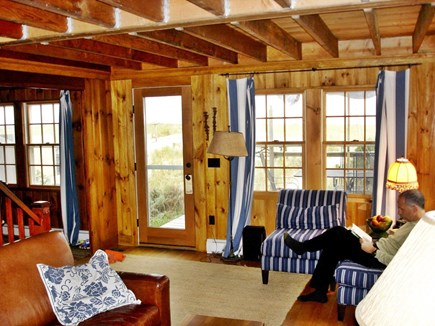North Truro Cape Cod vacation rental - Alternate view of the living room