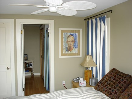 North Truro Cape Cod vacation rental - Downstairs bedroom with en-suite bathroom.