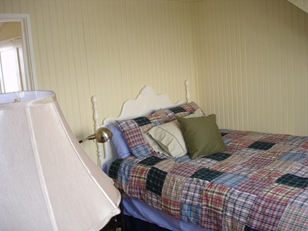 North Truro Cape Cod vacation rental - Upstairs bedroom with a queen bed and full closet.