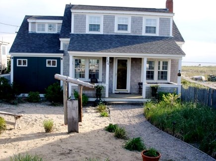 North Truro Cape Cod vacation rental - Street Side View of the house