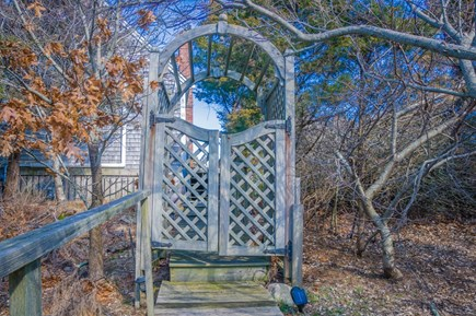 East Sandwich Cape Cod vacation rental - Private entrance to access property.