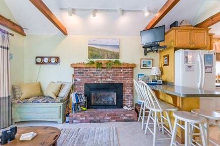 East Sandwich Cape Cod vacation rental - Living room and counter seating