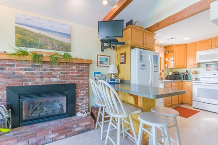 East Sandwich Cape Cod vacation rental - view of kitchen counter and kitchen