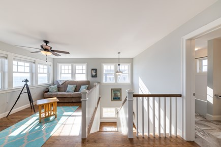 Mashpee, Popponesset Cape Cod vacation rental - 2nd floor viewing area with pullout couch and TV