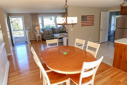 Chatham Cape Cod vacation rental - Open concept with kitchen flowing into dining area and LR