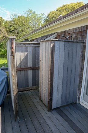 Chatham Cape Cod vacation rental - The outdoor shower is a must on Cape.