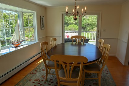 Chatham Cape Cod vacation rental - Dining room with a garden view