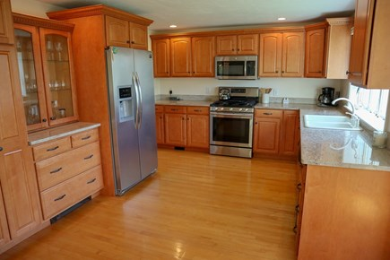 Chatham Cape Cod vacation rental - Spacious, bright kitchen is well equipped.