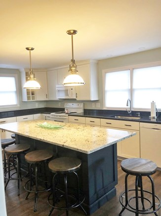 Sagamore Beach Sagamore Beach vacation rental - Beautiful, granite counter top center island, seating for 6.