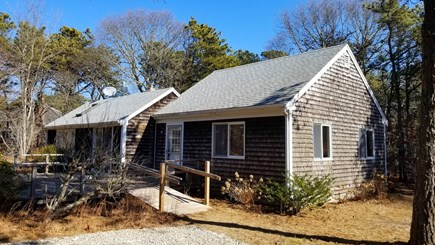 Truro Cape Cod vacation rental - This comfortable home is situated on a private, wooded lot