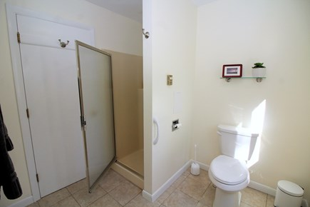 Truro Cape Cod vacation rental - Spacious bathroom with stall shower.