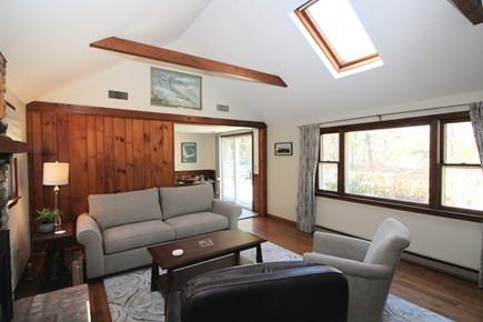 Truro Cape Cod vacation rental - Plenty of light in the comfortable living room