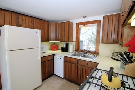 Truro Cape Cod vacation rental - Kitchen appliances include a dishwasher