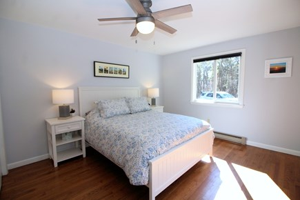 Truro Cape Cod vacation rental - Bedroom one has a queen bed. Linens included.