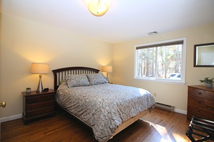 Truro Cape Cod vacation rental - Bedroom two has a queen bed. Linens included.